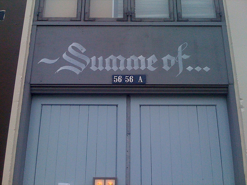 Found Lettering